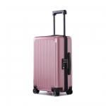 "Чемодан, NINETYGO Thames Luggage 20"", 6972125142924, 40л, Розовый"