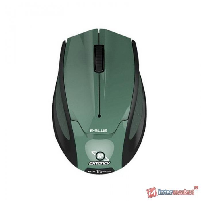 Мышь, E-Blue, Extency EMS104BK, Чёрный-Зелёный