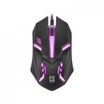 Мышь проводная Defender Cyber MB-560L черный
