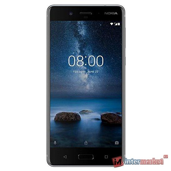 Смартфон Nokia 8 Dual sim Steel