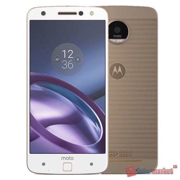 Смартфон Motorola Moto Z 32Gb, Gold